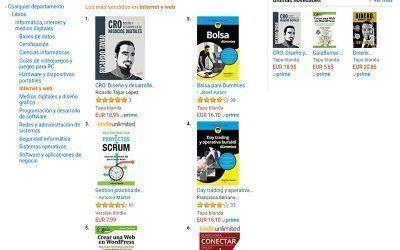 Guiaburros: Crear una web en WordPress entre los más vendidos de Amazon