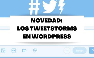 WordPress ya puede transformar artículos en hilos de tweets